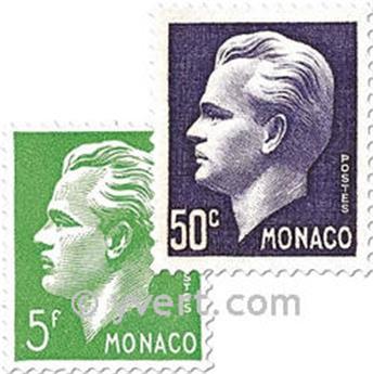 n° 344/350 -  Timbre Monaco Poste