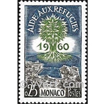 n° 523 -  Timbre Monaco Poste
