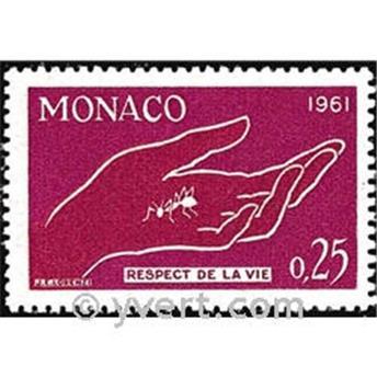 n.o 554 -  Sello Mónaco Correos