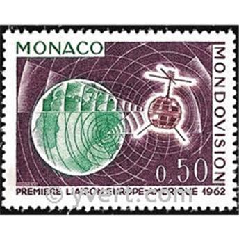 n.o 612 -  Sello Mónaco Correos