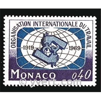 n° 806 -  Timbre Monaco Poste