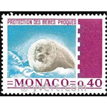 n° 815 -  Timbre Monaco Poste