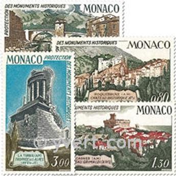 n° 851/854 -  Selo Mónaco Correios
