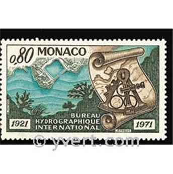 n.o 861 -  Sello Mónaco Correos