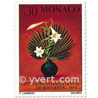 n° 897/899 -  Selo Mónaco Correios