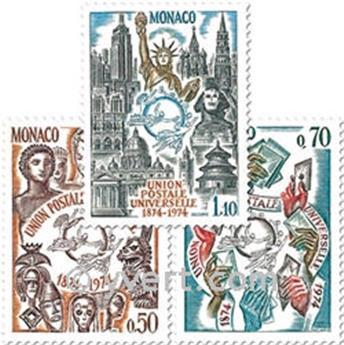n.o 953/955 -  Sello Mónaco Correos