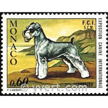 n.o 963 -  Sello Mónaco Correos