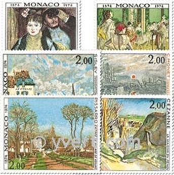 n.o 967/972 -  Sello Mónaco Correos