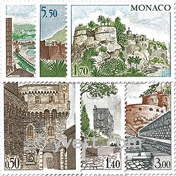 nr. 986/991 -  Stamp Monaco Mail