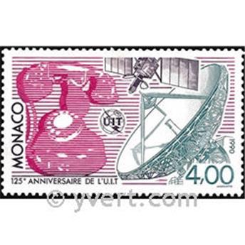 n.o 1718 -  Sello Mónaco Correos