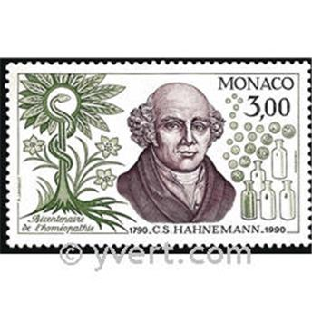 n.o 1739 -  Sello Mónaco Correos