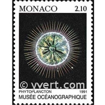 n° 1761 -  Selo Mónaco Correios