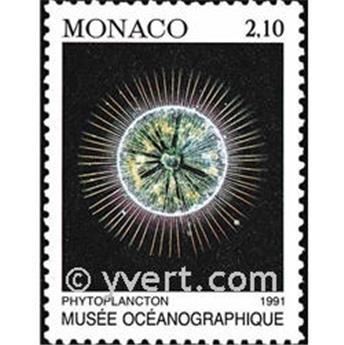 n.o 1761 -  Sello Mónaco Correos