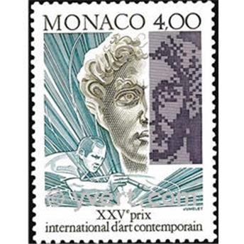 n° 1776 -  Selo Mónaco Correios