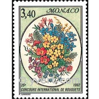 n° 1815 -  Selo Mónaco Correios