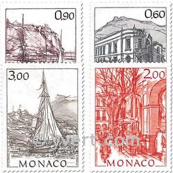 n° 1834/1838 -  Timbre Monaco Poste