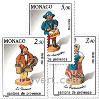 n.o 1846/1848 -  Sello Mónaco Correos