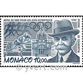 n.o 1853 -  Sello Mónaco Correos