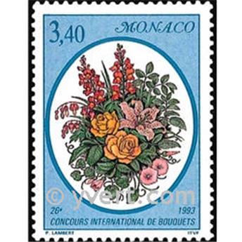 n.o 1868 -  Sello Mónaco Correos