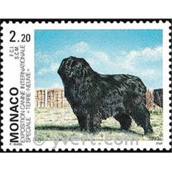 n° 1872 -  Timbre Monaco Poste