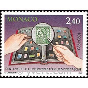 n° 1911 -  Timbre Monaco Poste