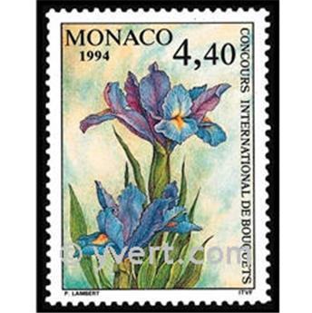 n° 1932 -  Timbre Monaco Poste