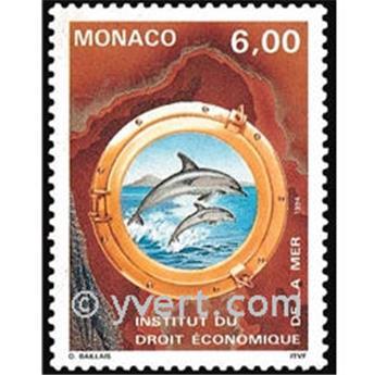 n° 1938 -  Timbre Monaco Poste