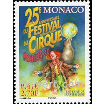 n° 2286 -  Timbre Monaco Poste