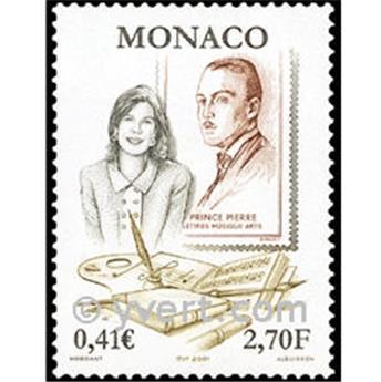n° 2300 -  Selo Mónaco Correios