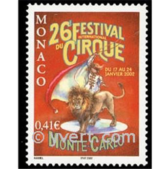 n° 2319 -  Selo Mónaco Correios