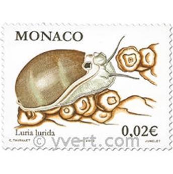 n° 2327/2330 -  Selo Mónaco Correios