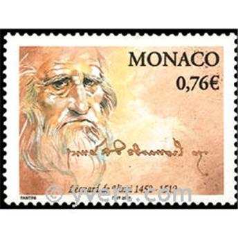 n° 2343 -  Selo Mónaco Correios