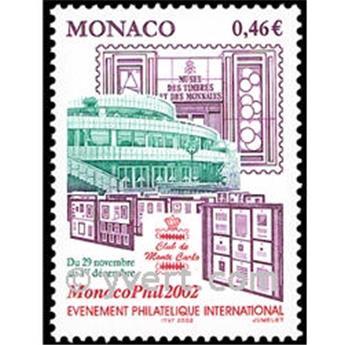 n.o 2353 -  Sello Mónaco Correos