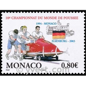 n.o 2385 -  Sello Mónaco Correos