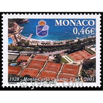n.o 2390 -  Sello Mónaco Correos