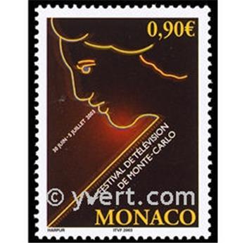 n° 2396 -  Timbre Monaco Poste