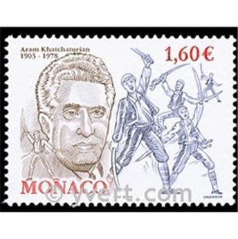 n° 2401 -  Selo Mónaco Correios