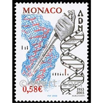 n° 2405 -  Selo Mónaco Correios