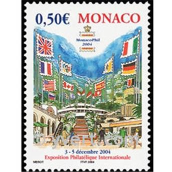 n° 2417 -  Selo Mónaco Correios