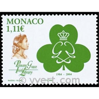 n° 2426 -  Selo Mónaco Correios