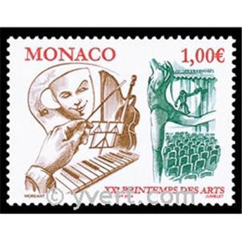 n° 2431 -  Selo Mónaco Correios
