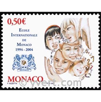 n° 2436 -  Selo Mónaco Correios