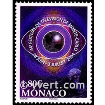 n° 2447 -  Selo Mónaco Correios