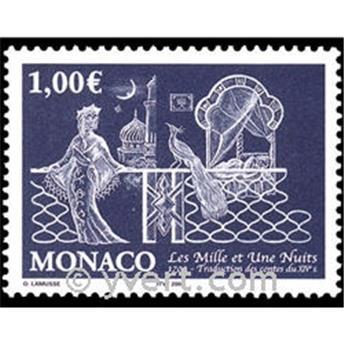 n° 2452 -  Selo Mónaco Correios