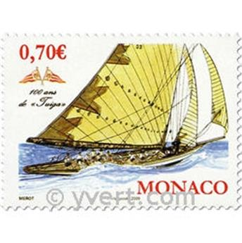 n° 2696 -  Selo Mónaco Correios