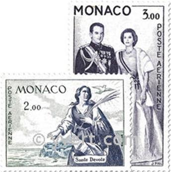 nr. 73/78 -  Stamp Monaco Air Mail