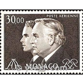 n.o 104 -  Sello Mónaco Correo aéreo