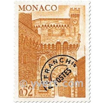 n° 42/45 -  Selo Mónaco Pré-obliterados