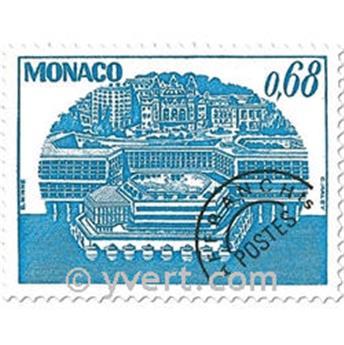 n° 62/65 -  Selo Mónaco Pré-obliterados