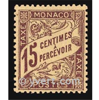 nr. 5 -  Stamp Monaco Revenue stamp